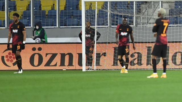 Galatasaray'ın galibiyet serisi son buldu