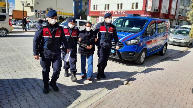 Konyada hırsızlık şüphelisi tutuklandı