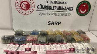 498 kutu gümrük kaçağı ilaç ele geçirildi