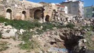 İzinsiz kazıda Roma dönemine ait kalıntılar çıktı