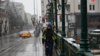 Eskişehir ve Kütahya'da kar etkili oldu