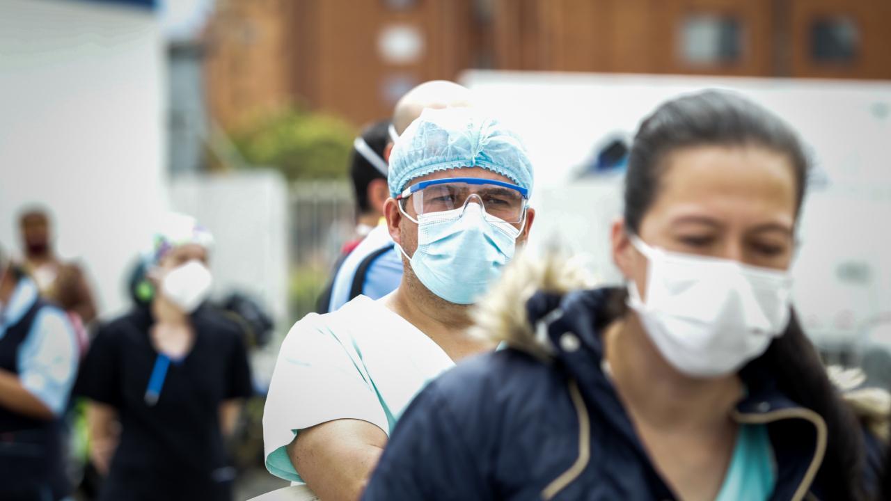 Kolombiya'da koronavirüsten can kaybı 60 bini geçti
