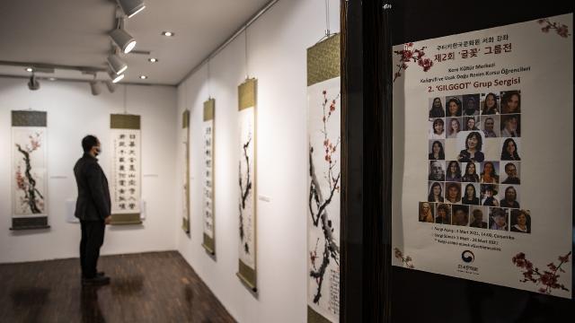 Ankarada kaligrafi ve Uzak Doğu resimleri sergisi