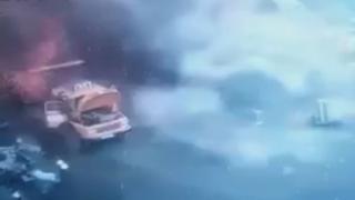 Lübnan'da demir deposunda patlama: 1 ölü