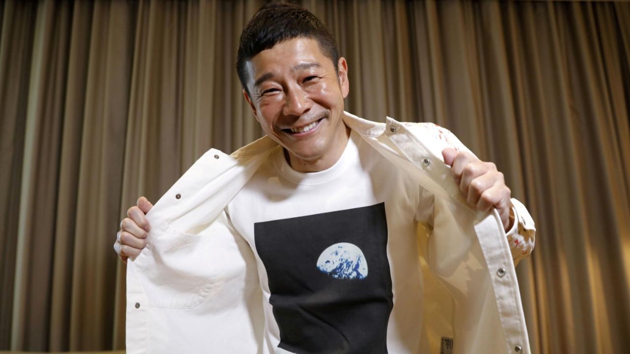 Japon milyarder, Ay seyahati için kendisine eşlik edecek 8 kişi arıyor