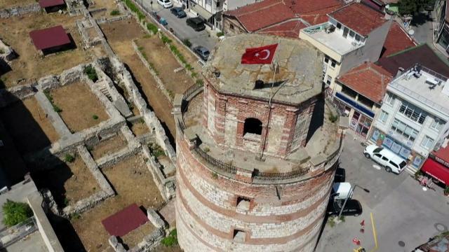 Edirnedeki Makedon Kulesi müze ve ören yeri olacak