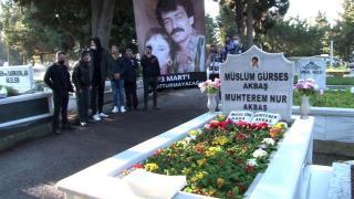 Müslüm Gürses 8. ölüm yıl dönümünde de unutulmadı