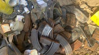 Pençe-Kaplan Operasyonu bölgesinde PKK'ya ait mühimmat ve yaşam malzemeleri ele geçirildi