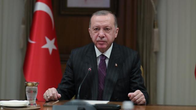 Cumhurbaşkanı Erdoğandan Filistin diplomasisi