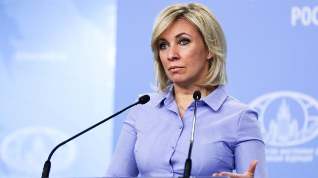 Zaharovadan Çekyaya tepki: Rusya ile böyle bir üslup kabul edilemez