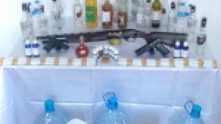 Tokat'ta sahte içki operasyonu: 3 gözaltı