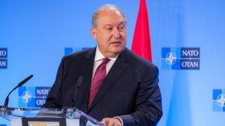 Sarkisyan'dan Genelkurmay Başkanı'nı görevden almaya ikinci ret