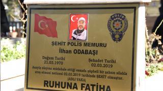 Kayseri'de silahlı saldırıda şehit olan polis memuru anıldı