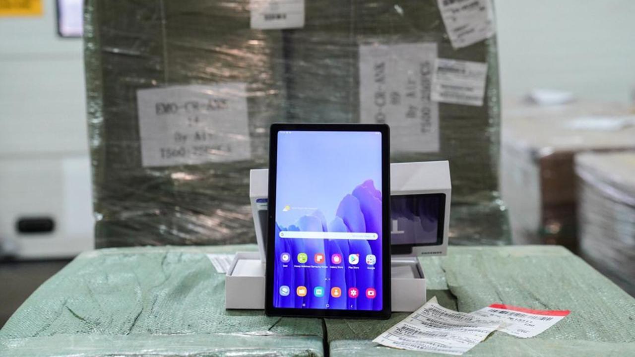 68 bin 241 tablet daha öğrencilere ulaştırılacak