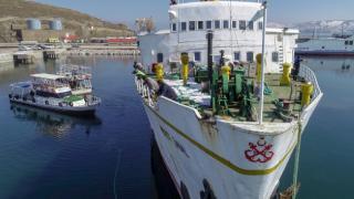 Atıl feribot Van Gölü'nde yüzen otel olacak