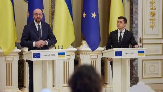 Ukrayna Devlet Başkanı'ndan AB'ye Rusya'ya yaptırım talebi