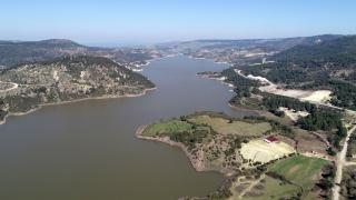 Çanakkale'nin içme suyunu karşılayan barajda doluluk oranı 73,5'e ulaştı