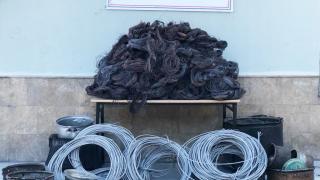 Tokat'ta çalıntı bakır kablo ve kazanları satmaya çalışan 4 şüpheli yakalandı