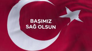 Başın sağ olsun Türkiyem