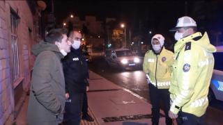 İzmir'de alkollü sürücüye 5 bin 828 lira ceza kesildi