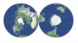 Dünyanın gerçeğe en yakın yeni haritası