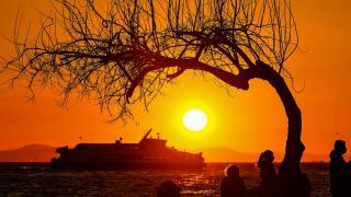 İzmir'de gün batımı