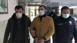 Samsun'da kadına şiddete tutuklama