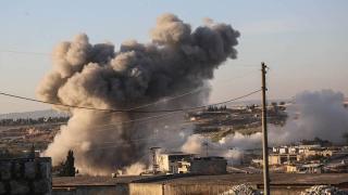 Rus savaş uçaklarının İdlib'teki hava saldırısında 3 sivil yaralandı