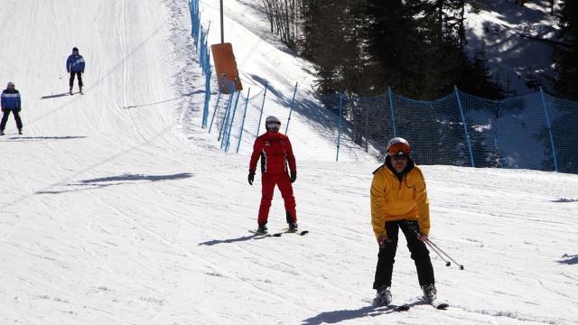 Ilgaz Dağındaki kayak merkezlerinde sezon uzayacak