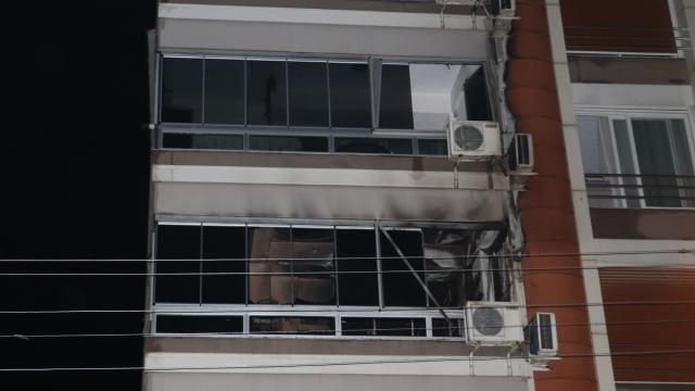 Torbalı Belediye Başkanı Uygurun yaşadığı binada yangın