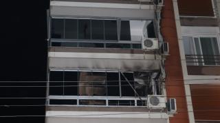 Torbalı Belediye Başkanı Uygur'un yaşadığı binada yangın