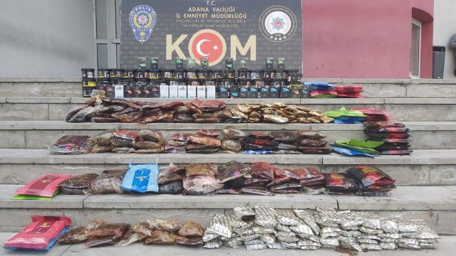 Adanada 432 litre sahte içki ve 4 bin 800 litre kaçak akaryakıt ele geçirildi