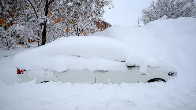 Meteorolojiden kar, buzlanma ve çığ uyarısı