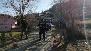Sinop'ta bir köy Covid-19 tedbirleri kapsamında karantinaya alındı