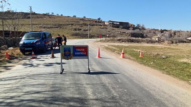 Çankırıda bir köy karantinaya alındı
