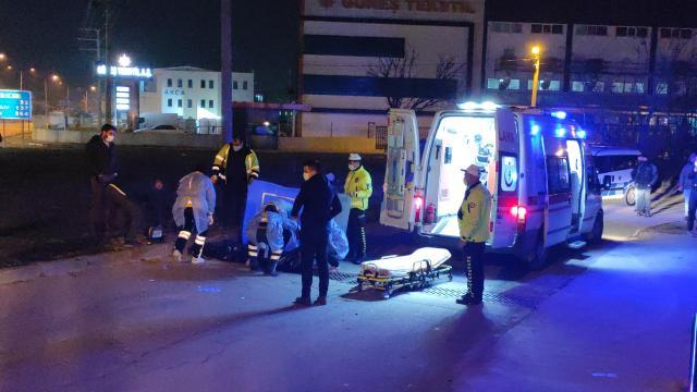 Bursada motosikletli kurye trafik kazasında hayatını kaybetti