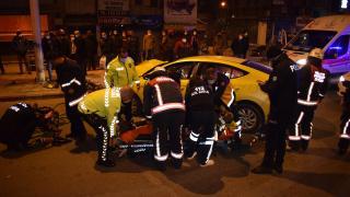 Malatya'da trafik kazası: Taksici hayatını kaybetti
