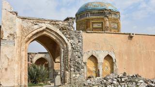 Yıkılma tehlikesi bulunan tarihi Kerkük Kalesi restore edilmeyi bekliyor