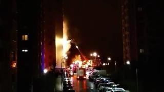 Kocaeli'de apartman dairesinde yangın: 5 kişi dumandan etkilendi