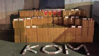 Gaziantep'te 2 milyon 690 bin kaçak makaron ele geçirildi