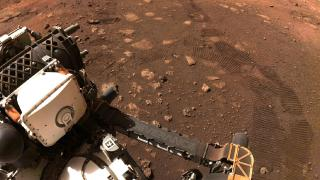 Mars'ta ilk test sürüşü: 33 dakikada 6 buçuk metre yol