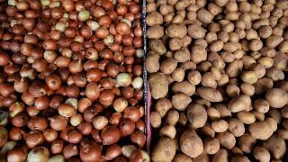 Türkiye 2020'de 124 bin ton patates, 220 bin ton soğan ihraç etti