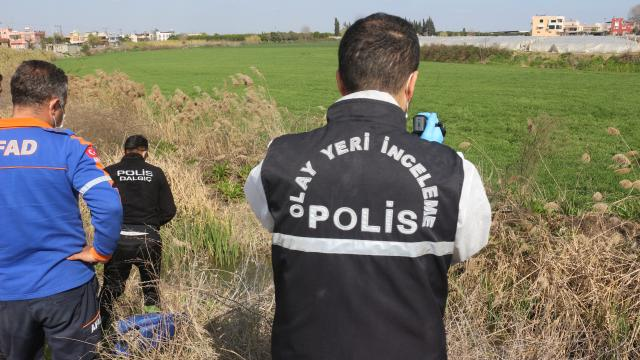 Adanada dün kaybolan gencin cesedi sulama kanalında bulundu