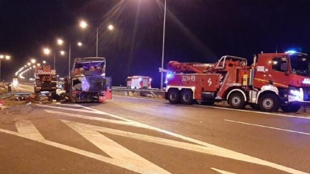 Polonya'da otobüs kazası: 6 ölü