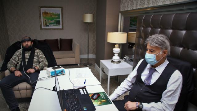 Azerbaycanlı gazi ve şehit yakınlarına Türk psikologlardan destek