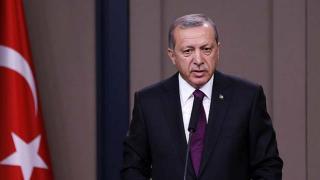 Cumhurbaşkanı Erdoğan şehit ailesi ile görüştü