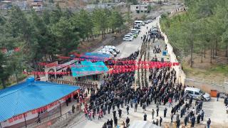 Tatvan'da şehit olan Astsubay Kıdemli Başçavuş Demir son yolculuğuna uğurlandı