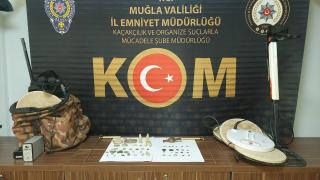 Muğla'da tarihi eser operasyonu: 3 gözaltı