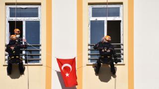 Sivas'ta deprem ve acil durum tahliye tatbikatı gerçekleşti