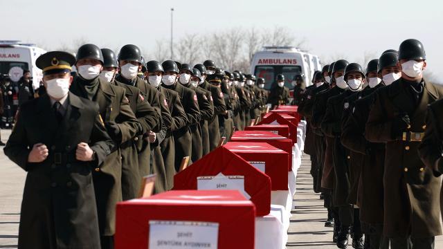 Şehit askerler için Ankarada devlet töreni düzenlenecek